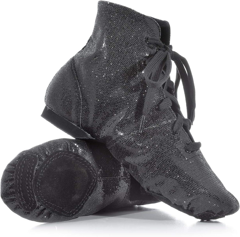 Double Platinum Adult Glitter Jazz Boot