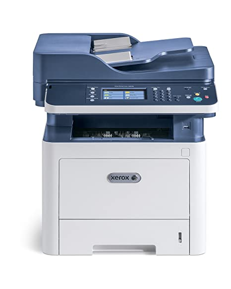 Xerox WorkCentre 3335V_DNI- Impresora monocroma multifunción (Laser, 1200 x 1200 DPI, 300 hojas, A4, Impresión directa, Azul, Blanco)
