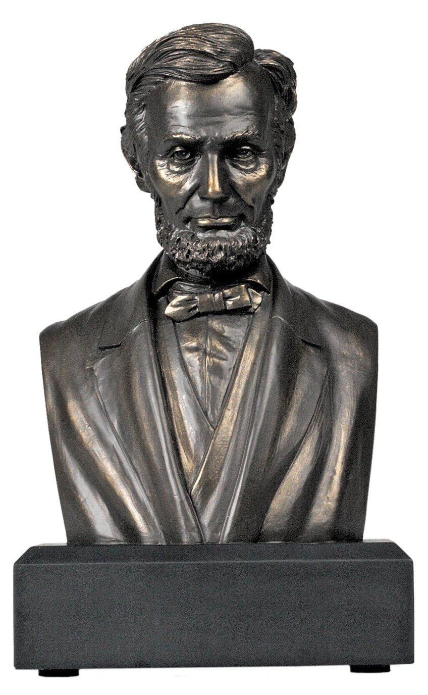 Sale - Abraham Lincoln Bust - The Perfect Fathers Day Gift by Great Americans