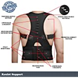 Posture Corrector Back Brace | Best Posture Corrector | The Best Adjustable Back Posture Corrector For Men and Women, Improves Posture and Hunched Shoulders, Shoulder Alignment, Perfect Exercises
