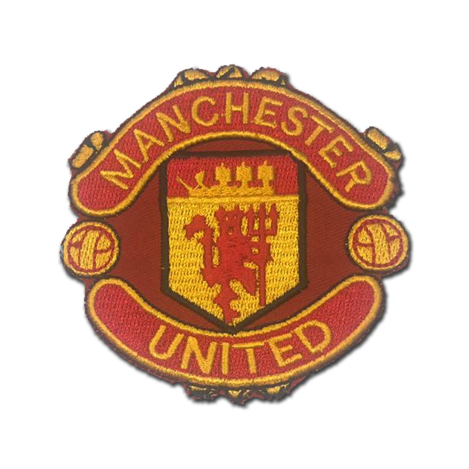 Manchester United MUFC Man U Red 3'' Logo Sew Ironed On Badge Embroidery Applique P by KHC