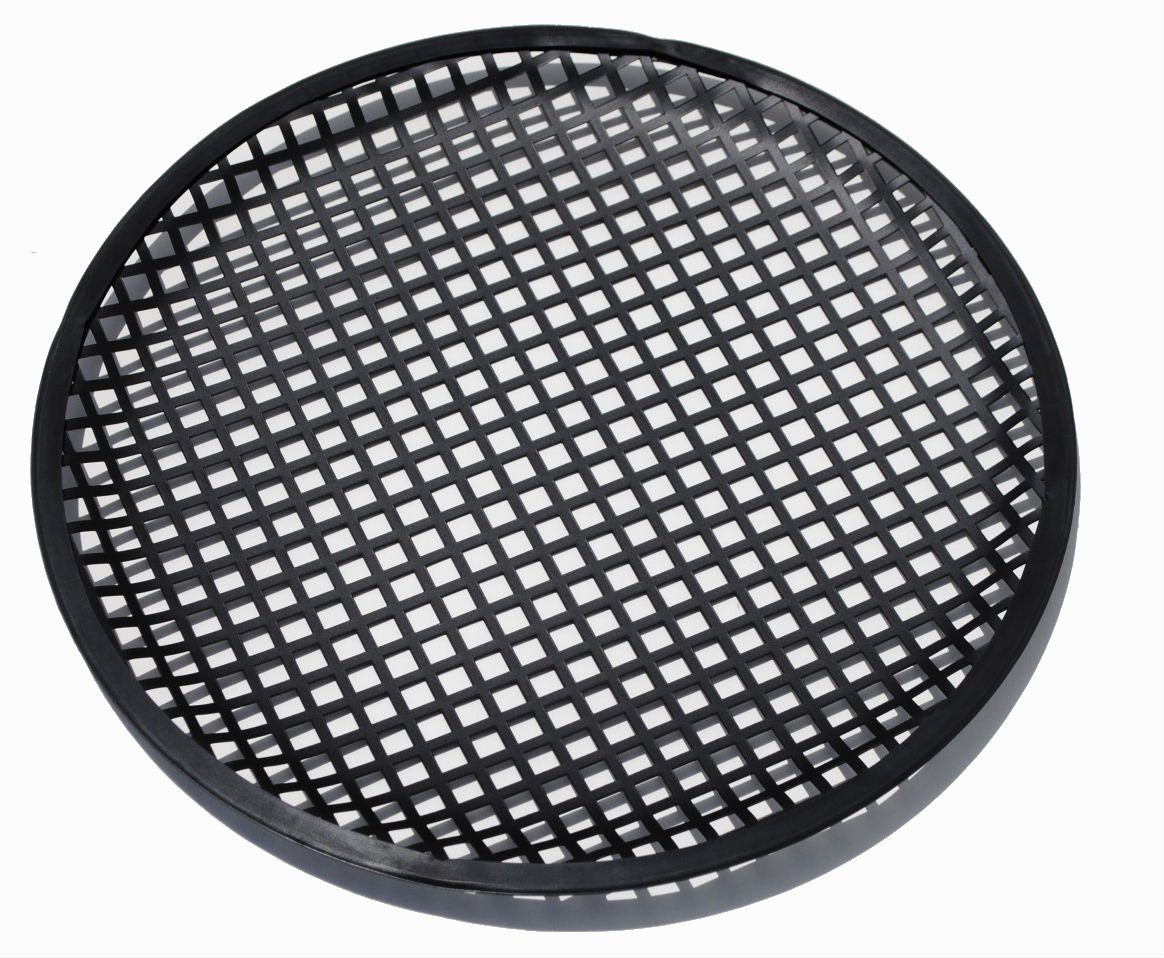 Universal 12 Inch (12'') Subwoofer Speaker Metal Grill Waffle Cover Guard by Custom Install Parts (Image #2)