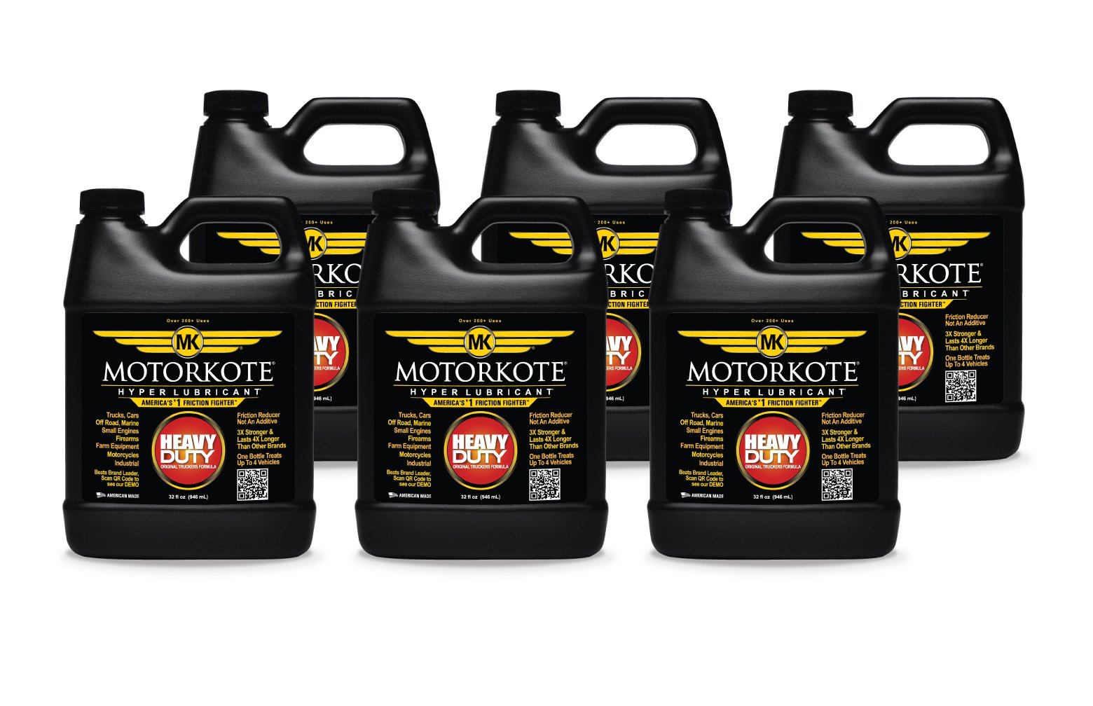 Motorkote (MK-HL32-06-6PK) Hyper Lubricant - 32 oz., (Pack of 6) by Motorkote