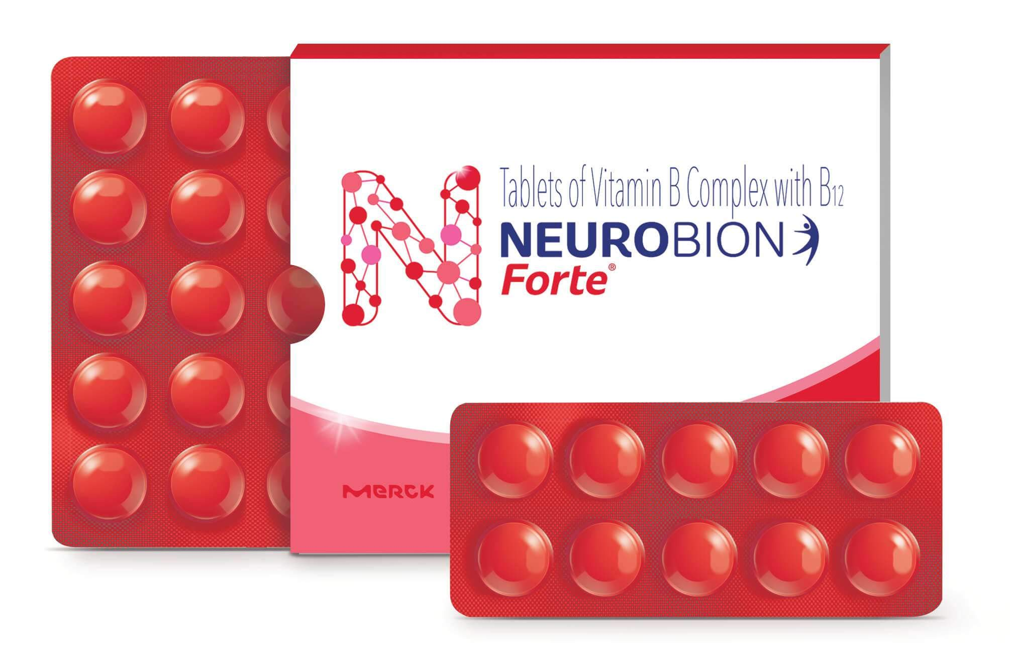 Neurobion Forte 60 Tablets Vitamin B Complex With B12.