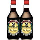 Kikkoman Soy Sauce 20 Oz (Pack of 2)