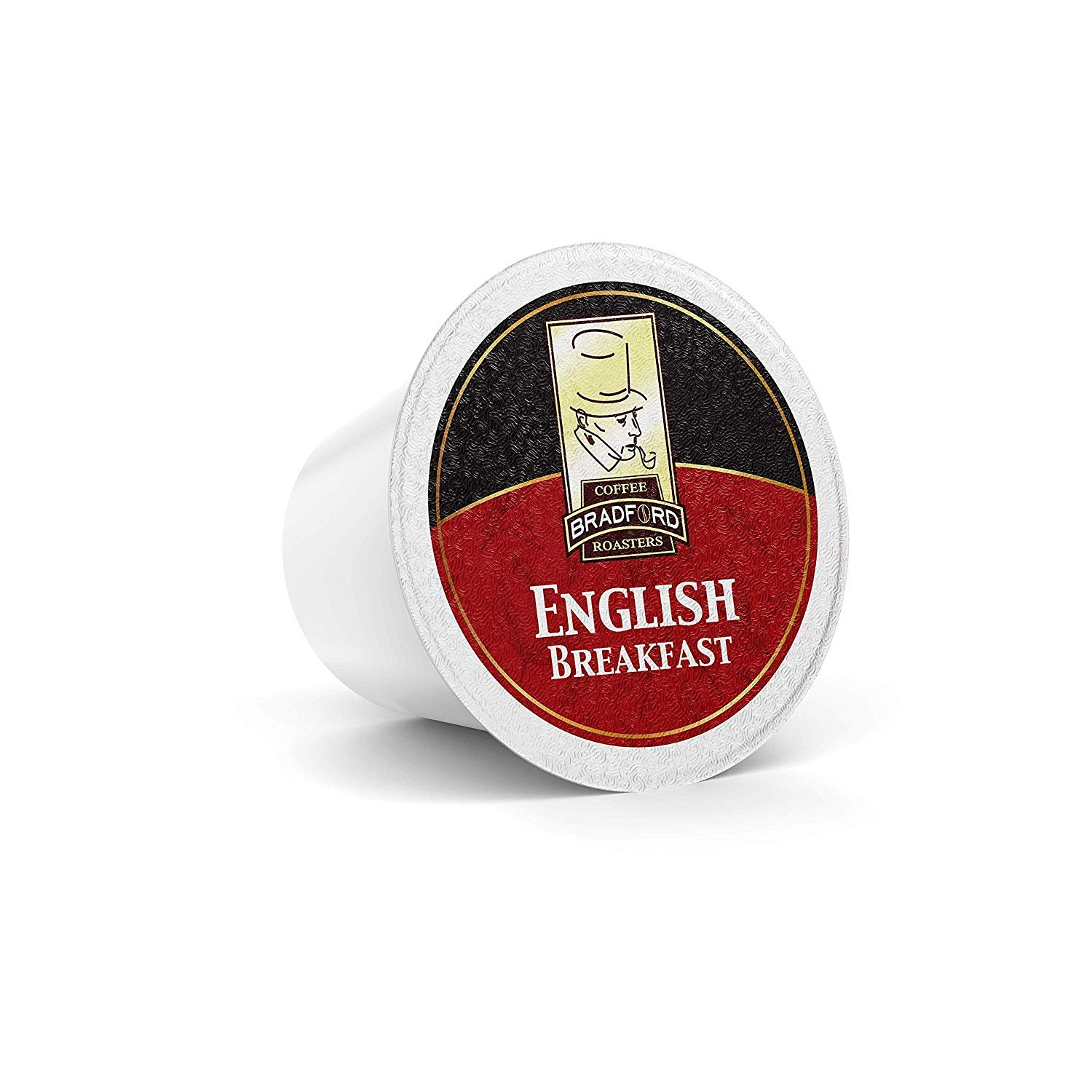 Bradford Tea - 48 Ct. English Breakfast Tea K-Cup Pods, Compatible with 2.0 K-Cup Brewers