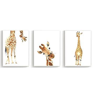 Kinderbilder fürs kinderzimmer giraffe  Wandposter für Kinderzimmer, Babyzimmer Poster, Wandbild, Wanddruck ...