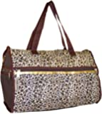 Amazon Com Household Essentials Weekender Bag Leopard