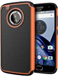Moto G5 Plus Case, Cimo [Shockproof] Heavy Duty Shock Absorbing Hybrid Protection Cover for Motorola Moto G5 Plus (2017) - Orange