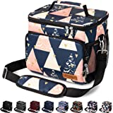 Insulated Lunch Bag for Women/Men - Reusable Lunch Box for Office Work School Picnic Beach - Leakproof Cooler Tote Bag…
