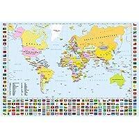 Anatolian Dünya Haritası / World Map 260 Parça