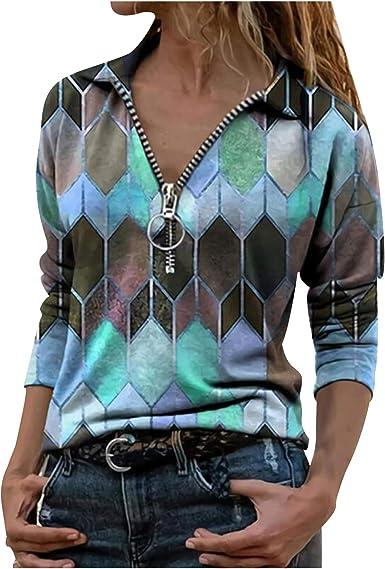 Womens Long Sleeve Casual Tops Blouse Belt Shirts Short Mini Dress Work S-3XL