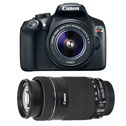Amazon Com Canon Eos Rebel T6 Dslr Camera With Ef S 18 55mm