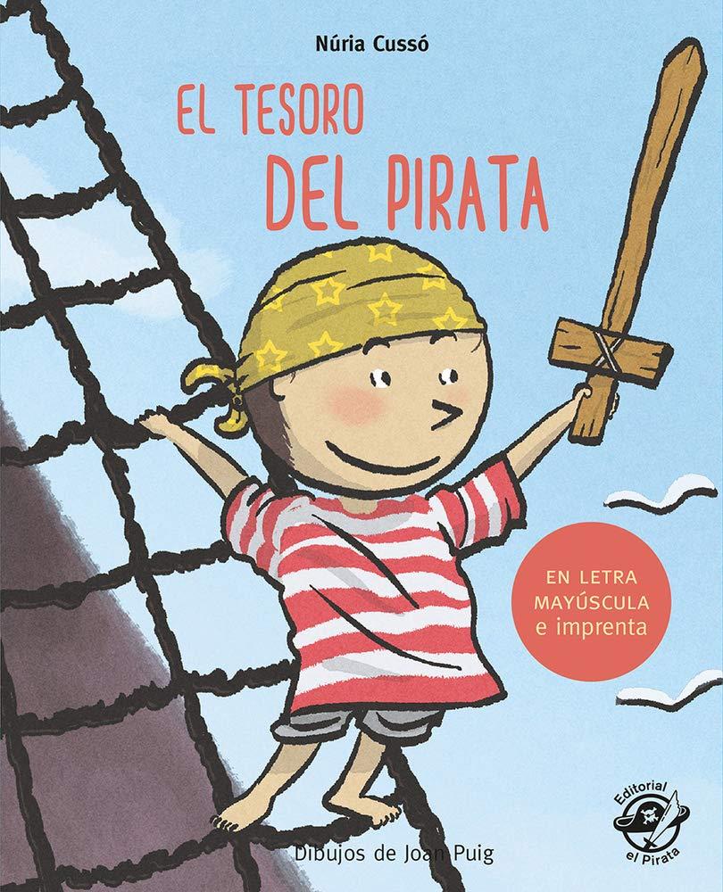 El tesoro del pirata: En letra MAYÚSCULA y de imprenta: libros ...