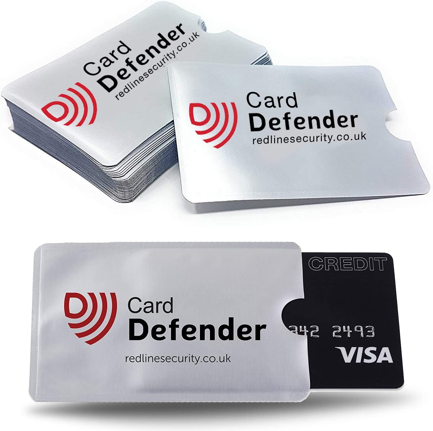 RFID Card Sleeve For Wallet Blocking Protector Holder Debit Credit Contactless