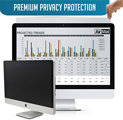SightPro 23.6 Inch Computer Privacy Screen Filter for 16:9 Widescreen Monitor Privacy and Anti-Glare Protector