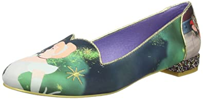 Irregular Choice Can't Step Me Dreaming, Escarpins Femme - Noir - Noir, 38 EU