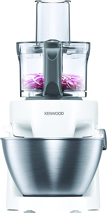 Kenwood KHH322WH 1000W 4.3L Color blanco - Robot de cocina (4,3 L, Color blanco, Metal, De plástico, 1000 W, 247 mm): Amazon.es: Hogar