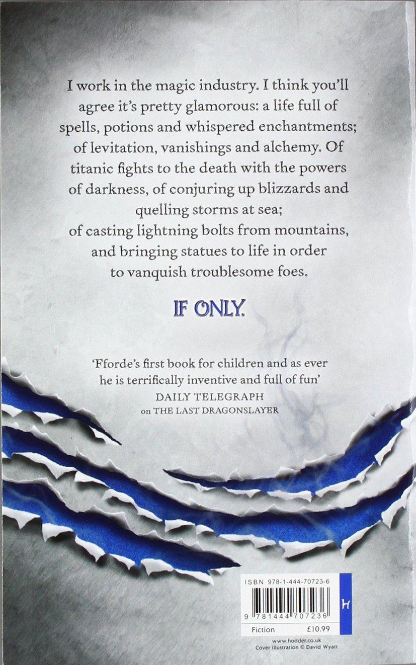 The Song Of The Quarkbeast: A Last Dragonslayer Novel: Jasper Fforde:  9781444707236: Amazon: Books