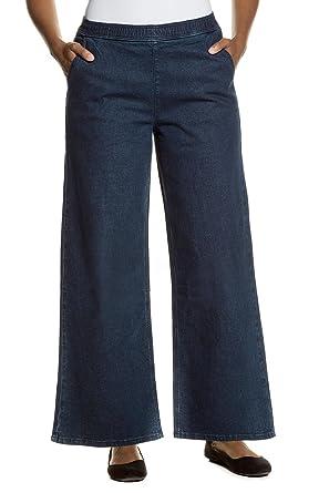 e0d8e036d8bc Ulla Popken Große Größen Damen Slim Jeans Weite Marlene Jeanshose Stretch  Ulla  Popken  Amazon.de  Bekleidung