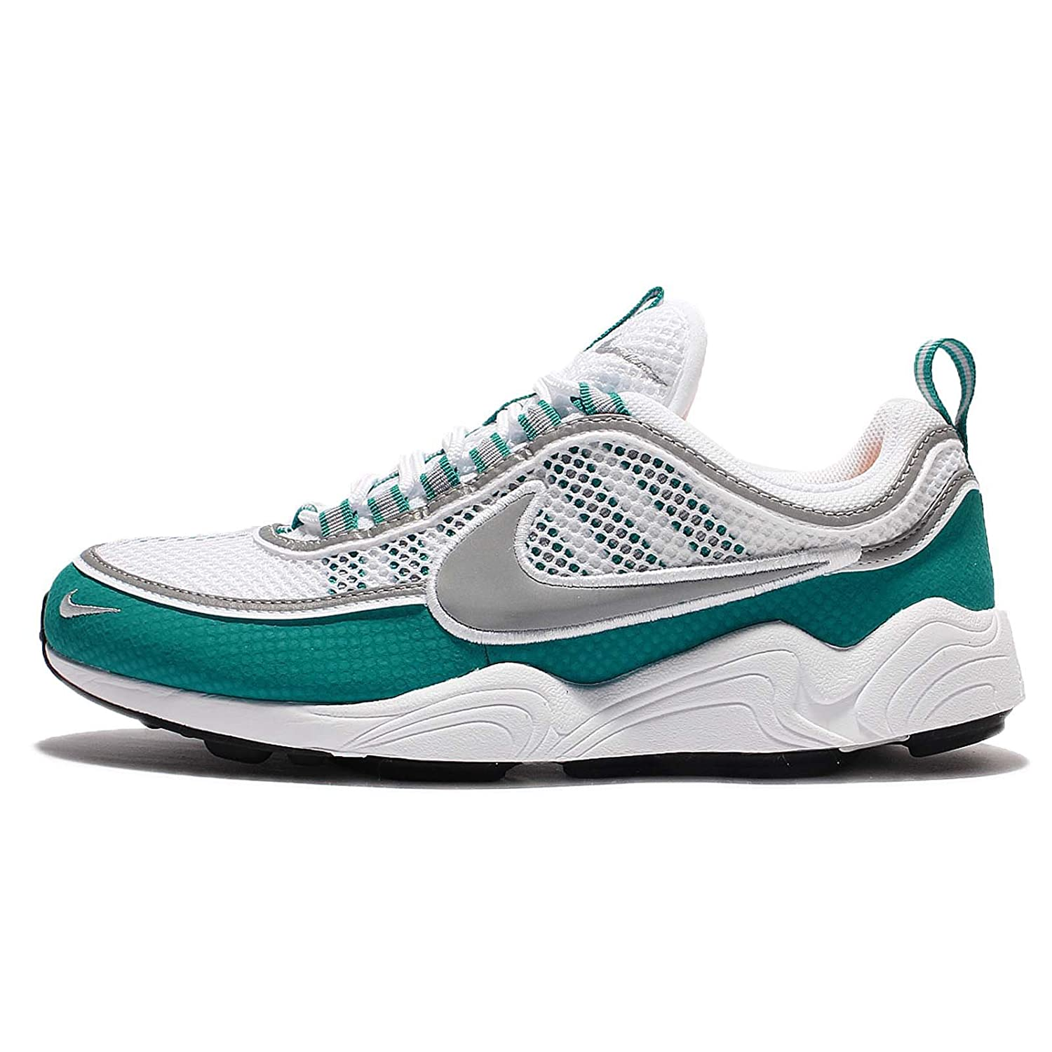 outlet store 0cdd7 4358f Sneakers Air Zoom Spiridon Hommes Blanc Vert Taille 47,5  Amazon.fr   Chaussures et Sacs
