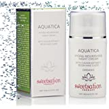 AquaTica Organic Botanical Night Cream with Caviar Extract, Reishi and CoQ10, 2oz