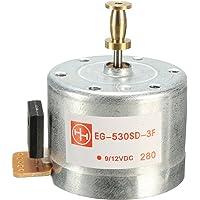 KUNSE Discos 33/45 Dc9-12V 3-Speed Giradiscos De Motor