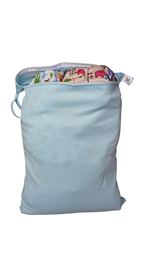 Bolsa impermeable para Pañales - bolsa pañales impermeable - Bolsa multiusos EXTRA GRANDE - Bolsa para bañador y toallas