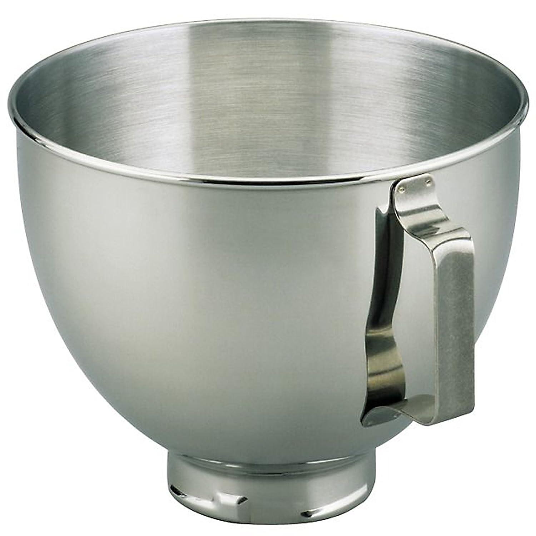 KitchenAid Refurbished K45SBWH 4.5 Qt SS Mixer Bowl with Handle by KitchenAid K45SBWH-2