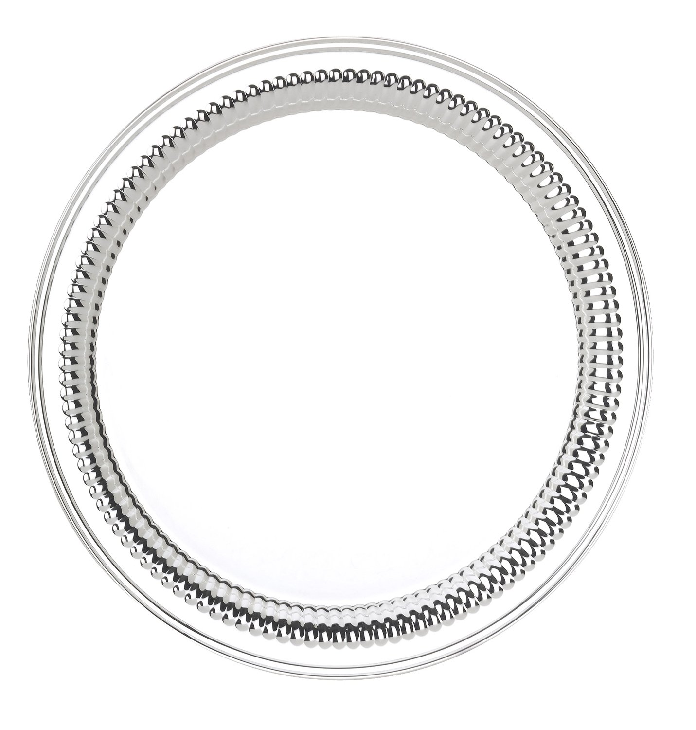 Reed & Barton S-941 Round 12-Inch Anne Tray, Queen