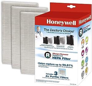 Honeywell HRF-R3 Filter R True HEPA Replacement Filter - 3 Pack