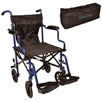 super lightweight folding transit travel wheelchair in a bag ectr05 rh amazon co uk
