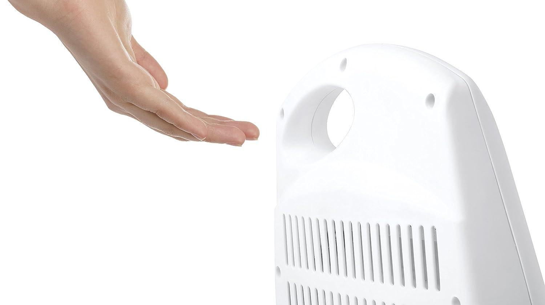 Orbegozo BP 5007 - Estufa de cuarzo con 2 niveles de potencia, 400 W y 800 W, diseño en color blanco, tamaño compacto: Amazon.es: Hogar