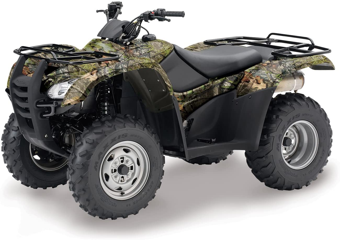 ATV Graphics Kit Decal Sticker Wrap For Honda Rancher AT 2007-2013 WOODLAND CAMO