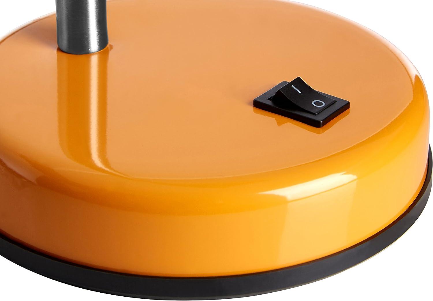 Lampe de bureau flexible blanc pour les parentsluma flex de Premier Housewares.