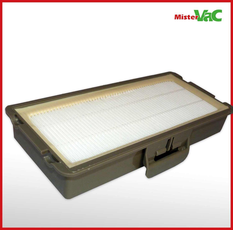Staubsaugerbeutel Hepa Filter geeignet für Siemens VSZ5GP1264//01-06 green Power