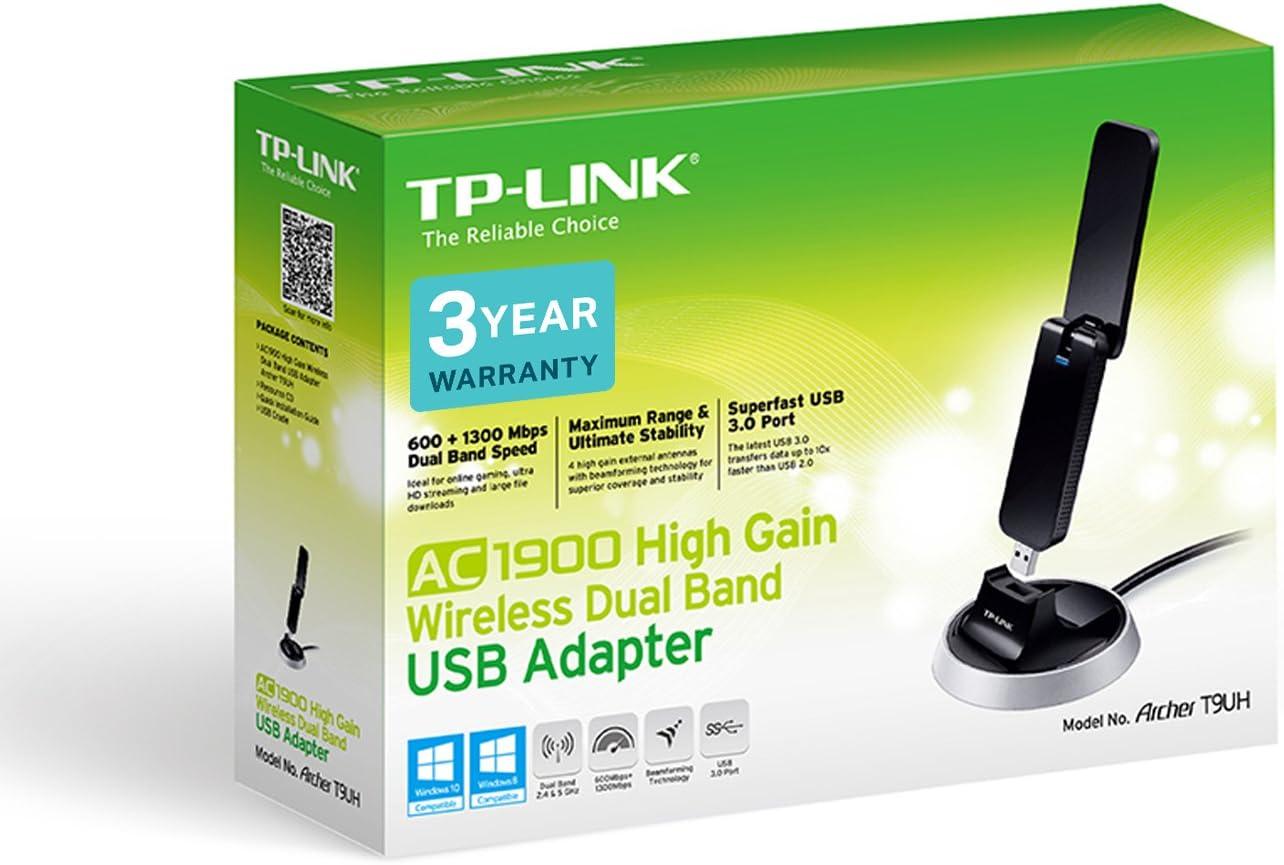 TP-Link Archer T3U AC1300 MU-MIMO USB 3.0 – Adaptador para WiFi