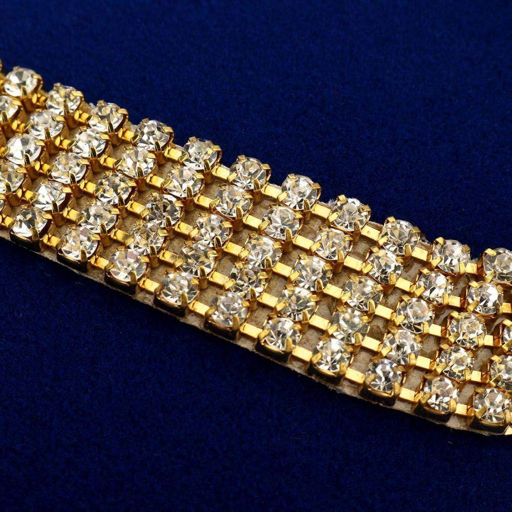 banquet f/ête Frisch Pochette /él/égante pour femme avec strass et cristaux pour mariage