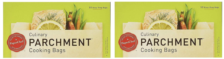 Amazon.com: Bolsas de cocina de pergamino Paper Chef, caja ...