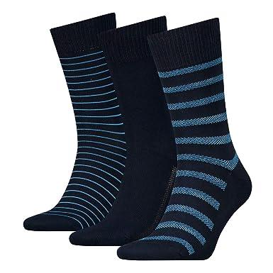 Levis Levis 168SF Regular Cut GIFTBOX 3P, Calcetines para Hombre, Azul Blue 466,