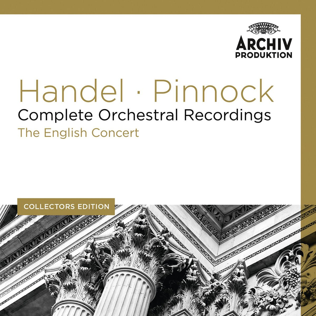 Collectors Edition: Handel: Complete Orchestral Recordings [11 CD] by Deutsche Grammophon