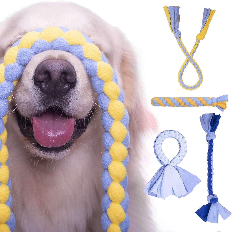 Large Fleece Dog Tug Rope