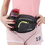 Innokids Fanny Pack with Water Bottle Holder Hiking Waist Pack Lumbar Waist Bag for Women Men Running Dog Walking Camping Travel