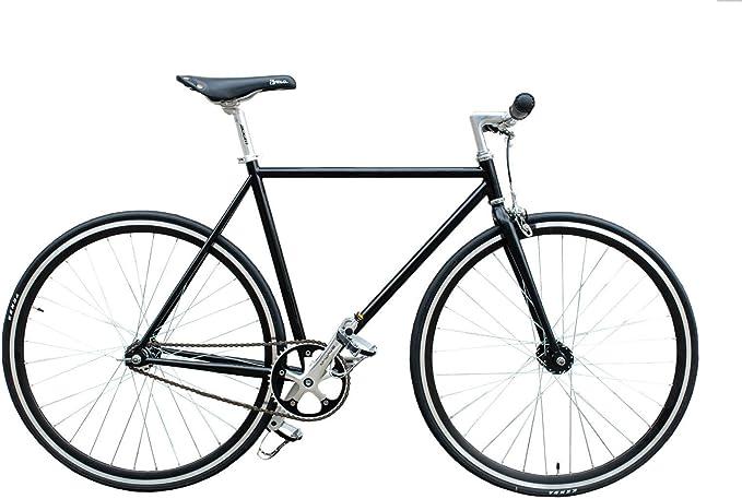 Woo Hoo bicicletas – Classic color negro – Fixed Gear Fixie, de bicicleta, bicicleta de pista, Classic Black, negro: Amazon.es: Deportes y aire libre