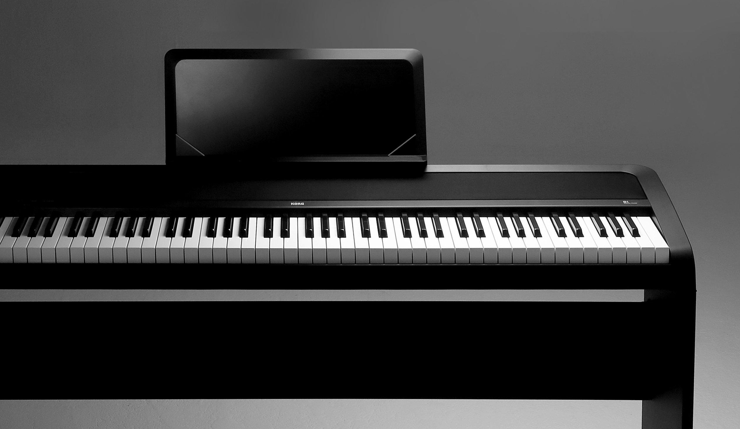 Korg B1 88 Key Digital Piano with Enhanced Speaker System Black by Korg (Image #3)