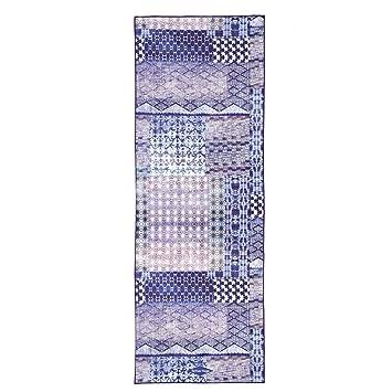 Toalla de yoga (183 x 66 cm) – antideslizante, 100% microfibra,