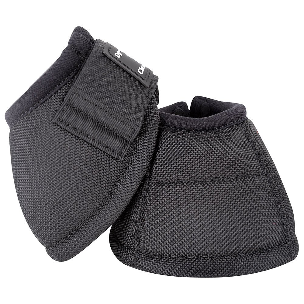 Classic Equine Dyno No-Turn Bell Boots Medium Blac by Classic Equine (Image #1)