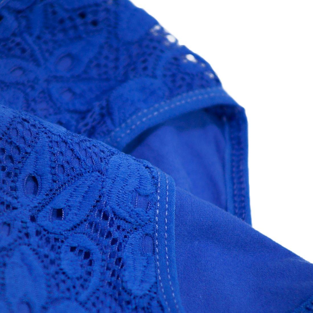 Love Hana Women's Lace Plus Size Brief Panties 4-Pack - XXXL by Love Hana (Image #4)