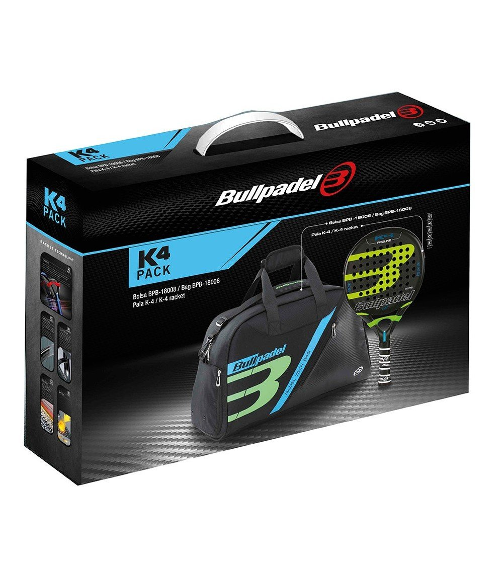 Pack BullPadel k4: Amazon.es: Deportes y aire libre