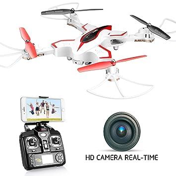 dodoeleph Syma x56 W RC Drone Plegable Quadcopter con HD 720P WiFi ...